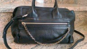 See by Chloé Designer Tasche #Chloé Leder Schwarz Kette Gold NEU