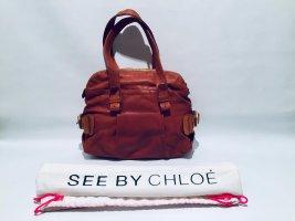 See by Chloé Handtasche aus braunem Leder