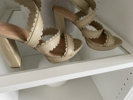 See by Chloe Sandalen high Heels Creme Nude beige 37