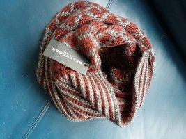 Seeberger Woolen Scarf multicolored wool
