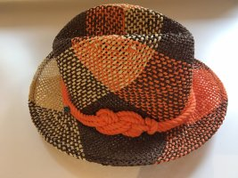 Seeberger Cappello di paglia multicolore