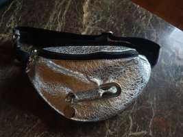 SeeByChloé Bumbag silver-colored leather