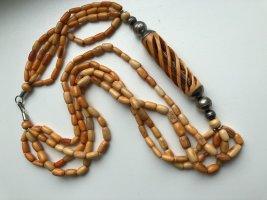 sehr alte handgemachte Samenkette aus Südafrika