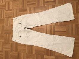 edc by Esprit Jeansowe spodnie dzwony biały