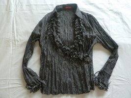Taifun Collection Blusa estilo Crash negro-blanco Poliéster