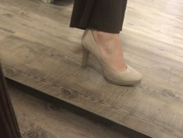 s.Oliver High Heels gold-colored-cream