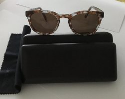 Ace & Tate Round Sunglasses azure-brown