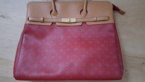 David Jones Handbag dark red-beige