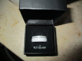 Bijou Brigitte Srebrny pierścionek srebrny-złoto