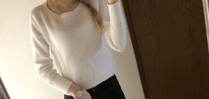 Sehr schöner Tommy Hilfiger Pullover weiß