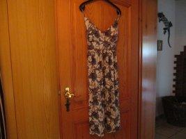 Laura Torelli Sukienka z dżerseju Wielokolorowy Poliester