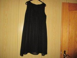 Robe chiffon noir polyester
