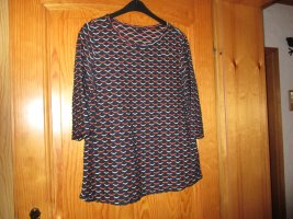 Laura Torelli Basic Shirt multicolored