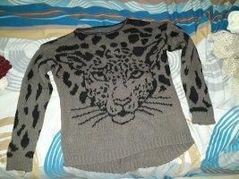 Sehr warmer Leoparden Pulli