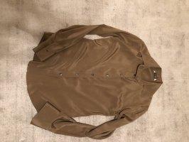 Caliban Silk Blouse light brown