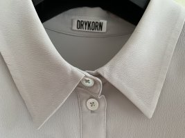 Drykorn for beautiful people Blusa de seda gris claro Seda