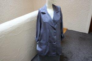 Heine Blouse Jacket slate-gray silk