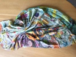 Mala Alisha Zijden sjaal veelkleurig Zijde