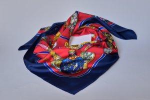 Hermès Jedwabna chusta czerwony Jedwab