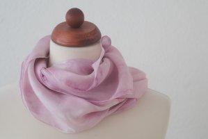 Handarbeit Silk Cloth light pink-pink silk
