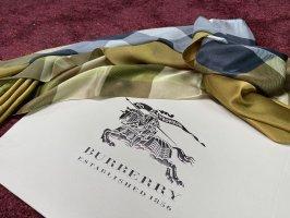 Burberry Bufanda de seda multicolor