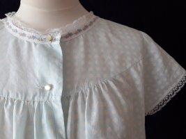 Seidensticker Robe de chambre blanc-bleu pâle