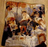 Renoir Pañuelo de seda multicolor