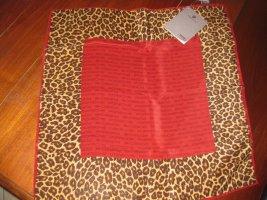 Porsche Design Silk Scarf red silk