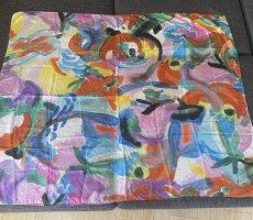 Omen Pañuelo de seda multicolor Seda