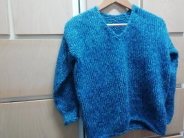 Handmade Knitted Sweater multicolored