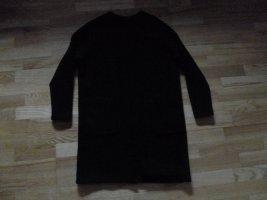 Selected Femme Abrigo de punto negro lana merina