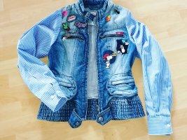 Handmade Denim Jacket baby blue