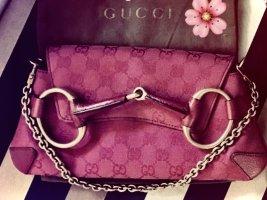 Gucci Handbag pink linen