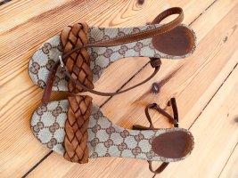 Seltene Original Gucci Vintage Sandalen, 37,5 / ACHTUNG: fallen aus wie 38, 38,5
