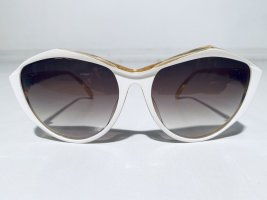 Christian Dior Butterfly Glasses white-sand brown