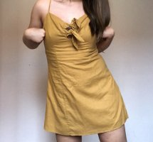 Send-Gelbes Sommerkleid