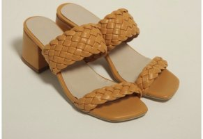 Strapped Sandals sand brown