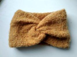 Senfgelbes Strick Stirnband