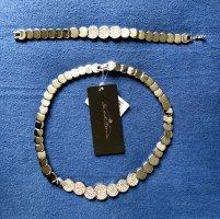 Senso Di Donna Bijou Brigitte Schmuck Steine NEU Halskette Armband