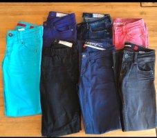 Set aus 7 Jeans, s.Oliver und Esprit, Sommer, straight und skinny