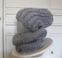 H&M L.O.G.G. Knitted Hat light grey polyacrylic