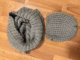Knitted Hat pale blue
