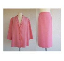Barisal Ensemble en jersey rose-rose polyester