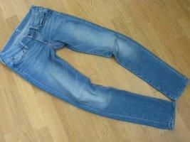 7 For All Mankind Jeans slim bleu