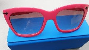 Gafas de sol cuadradas magenta