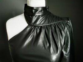 Sexy asymmetrisch ECHT Lederkleid Trend 2021 Leder Kleid Mini M