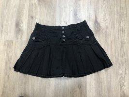 Sexy DIESEL Minirock Cotton Style Gr. XS w25 schwarz
