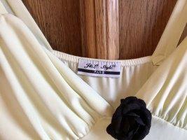 1.2.3 Paris Vestido tipo overol amarillo claro-negro