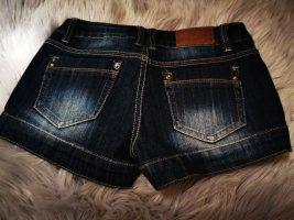 Monday Hot pants blu scuro