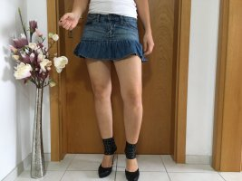 Denim Skirt multicolored